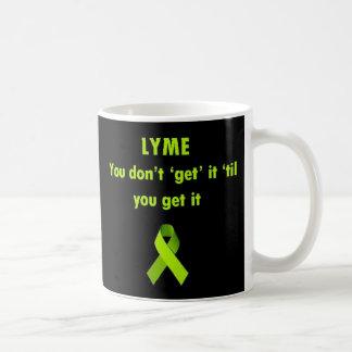 Mug Lyme, vous ne l'obtenez pas jusqu'à ce que vous