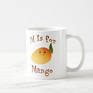 Mug M est pour la mangue