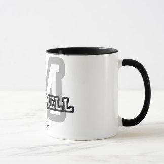Mug M est pour Maxwell