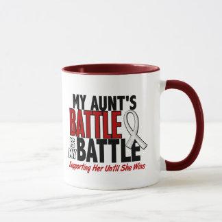 Mug Ma bataille trop 1 tante BONE/CANCER de POUMON