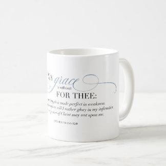 Mug Ma grâce est suffisante pour Thee