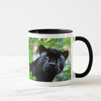 Mug Macro de panthère noire