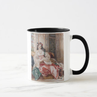 Mug Madame Seated dans un tabouret Turki de port