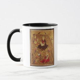 Mug Madonna avec un rosier