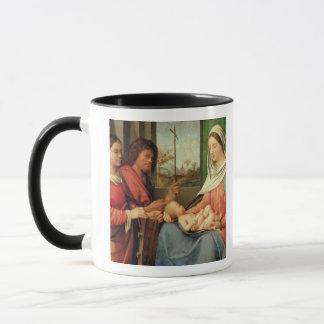 Mug Madonna et enfant avec les saints 2
