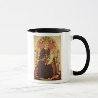 Mug Madonna et enfant couronnés avec Vulciano de