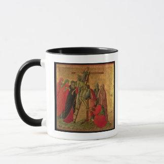 Mug Maesta : Descente de la croix, 1308-11