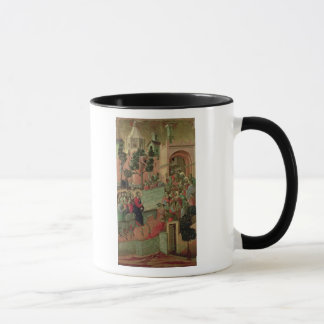 Mug Maesta : Entrée dans Jérusalem, 1308-11