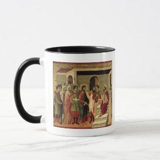 Mug Maesta : Jésus avant Herod, 1308-11