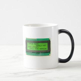 Mug Magic Affichage à cristaux liquides Smartie - affichage