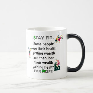 Mug Magic Ajustement de séjour pour la citation de santé de