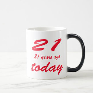 Mug Magic anniversaire quarante-deuxième