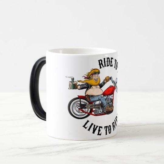 Mug Magic Biker motard ride to live