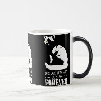 Mug Magic Cadeau classique de Noël d'amoureux de les chats -