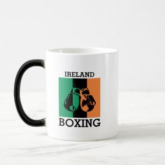 Mug Magic Cadeau de fans de boxe pour enfermer dans une