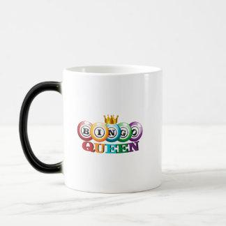 Mug Magic Cadeau de joueur de bingo-test de la Reine de