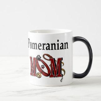 Mug Magic Cadeaux de MAMAN de Pomeranian