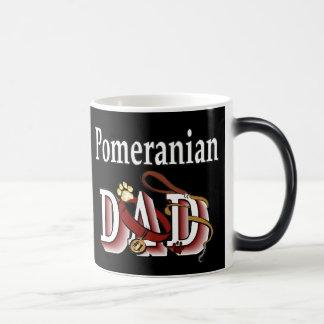 Mug Magic Cadeaux de papa de Pomeranian