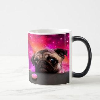 Mug Magic carlin de l'espace - nourriture de carlin -
