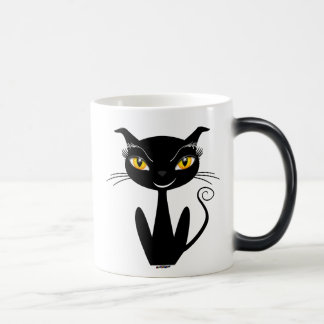 Mug Magic Chat noir lunatique