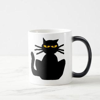 Mug Magic Chat noir mystérieux avec les yeux ambres