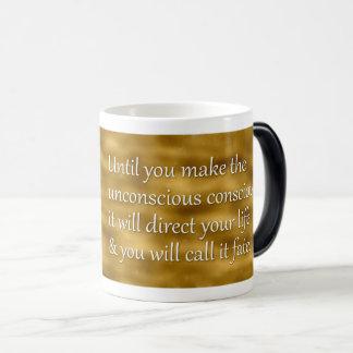 Mug Magic Citation de destin de Carl Jung