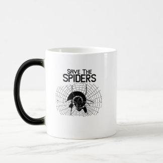Mug Magic Costume de toile d'araignées d'économies de