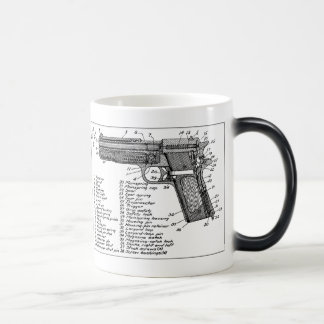 Mug Magic Diagramme d'arme à feu