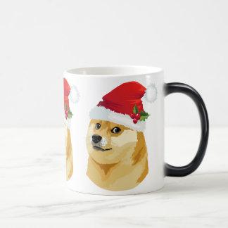 Mug Magic Doge de Noël - doge de père Noël - chien de Noël