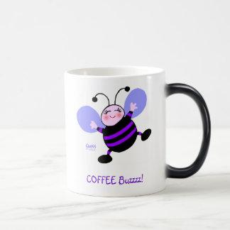 Mug Magic Drôle mignon de fourmi pourpre de bande dessinée