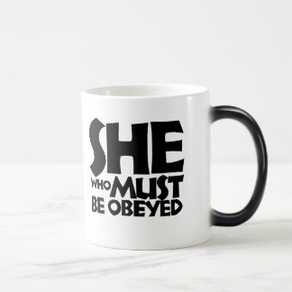 Mug Magic Elle qui doit être obéie