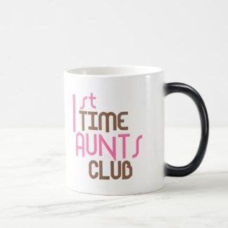 Mug Magic ęr Club de tantes de temps (rose)