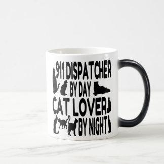 Mug Magic Expéditeur de l'amoureux des chats 911