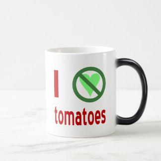 Mug Magic Je déteste des tomates