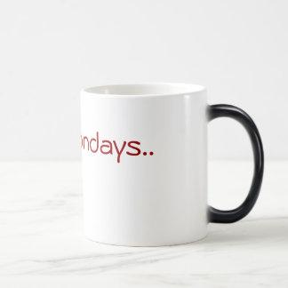 Mug Magic Je déteste lundi