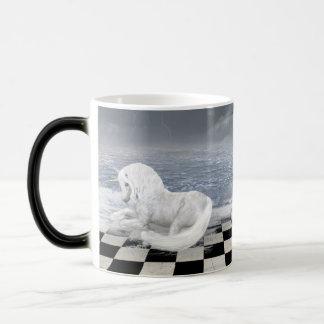 Mug Magic La licorne dans le paysage marin surréaliste Morph