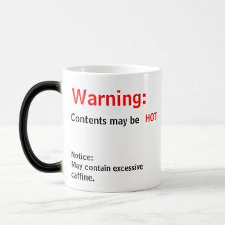 Mug Magic Le contenu peut être CHAUD