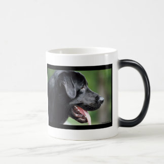 Mug Magic Le Labrador noir