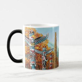 Mug Magic Le souvenir Morfing de Vancouver met en forme de