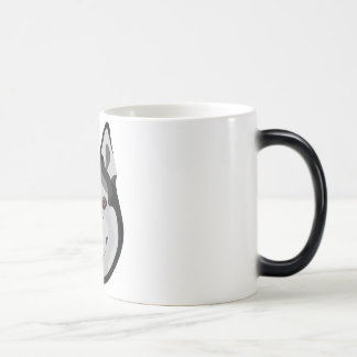 Mug Magic L'illustration poursuit le chien de traîneau