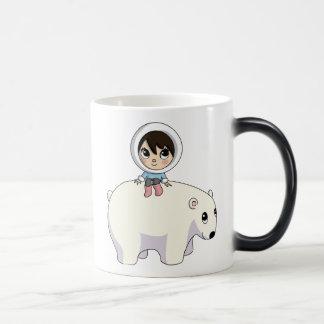 Mug Magic Lizzy et givrer l'ours blanc