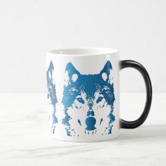 Mug Magic Loup de bleu glacier d'illustration