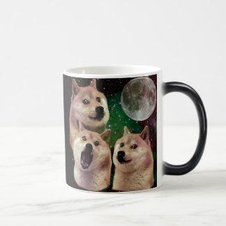 Mug Magic Lune de doge - l'espace de doge - chien - doge -