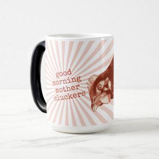 Mug Magic Mère Cluckers bonjour