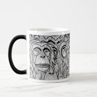 Mug Magic monkey cup Very beautiful
