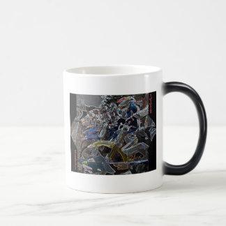 Mug Magic motostart, Revin