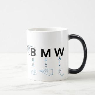 Mug Magic My BMW - Bus, Metro, Walk