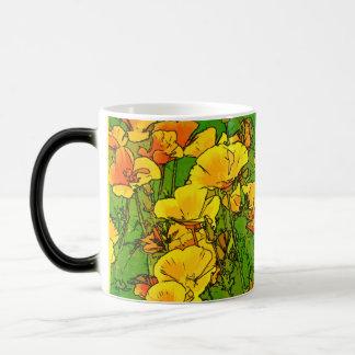 Mug Magic Pavots de Californie oranges 2.2.4.y