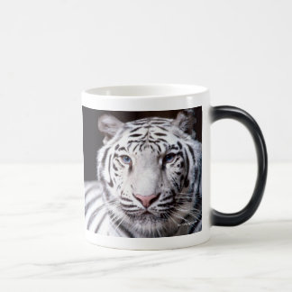 Mug Magic Photographie blanche de tigre de Bengale