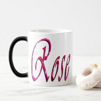 Mug Magic S'est levé le logo nommé femelle,
